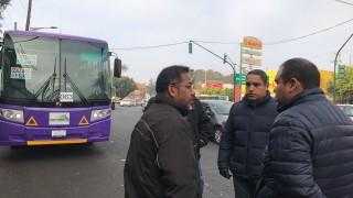 La SEMOVI informa que la supervisión en el corredor Izazaga-Tlalpan inició el pasado 28 de noviembre