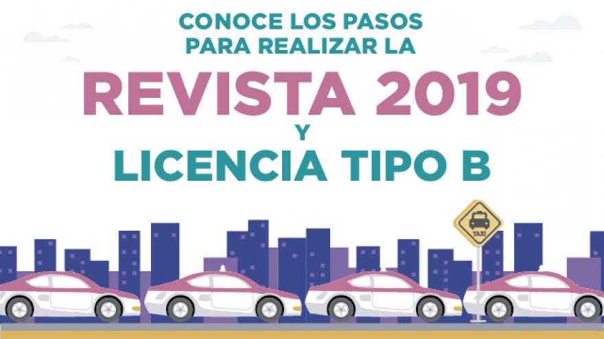 REVISTA 2019 Y LICENCIA TIPO B