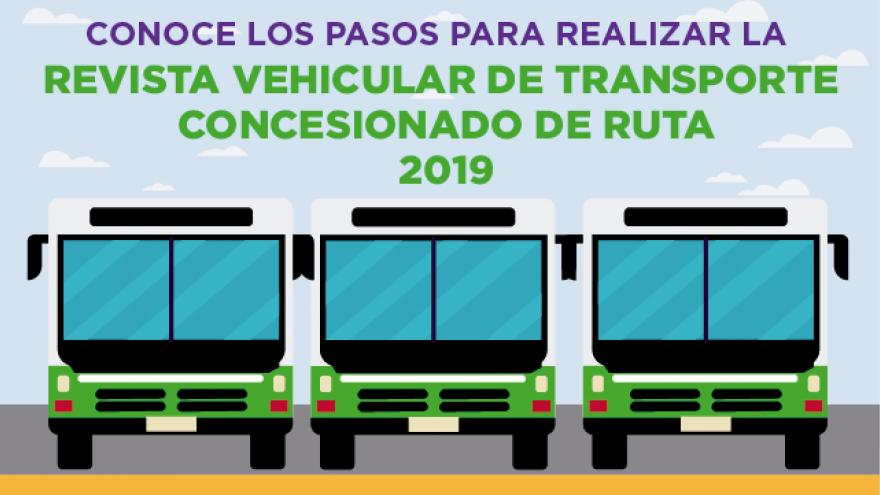 Revista vehicular de transporte concesionado de ruta