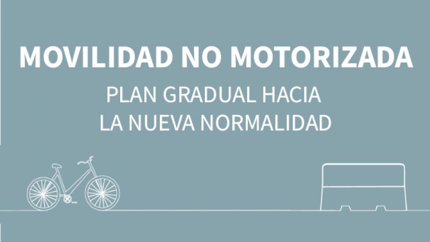 Movilidad no motorizada Plan gradual hacia la Nueva Normalidad