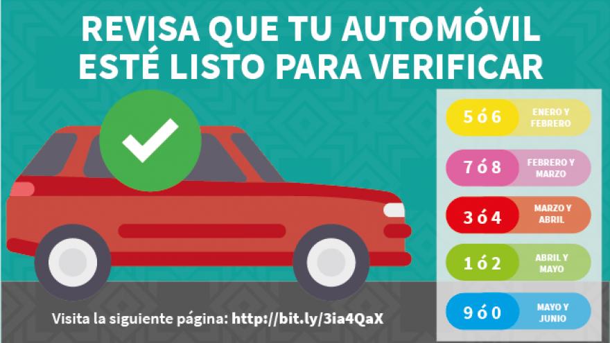A partir de 2021 todos los autos deberán acudir a verificar. Consulta aquí si tu vehículo está listo
